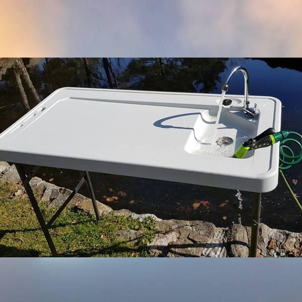 Bilde av Fiske/sløye bord m/vask og
