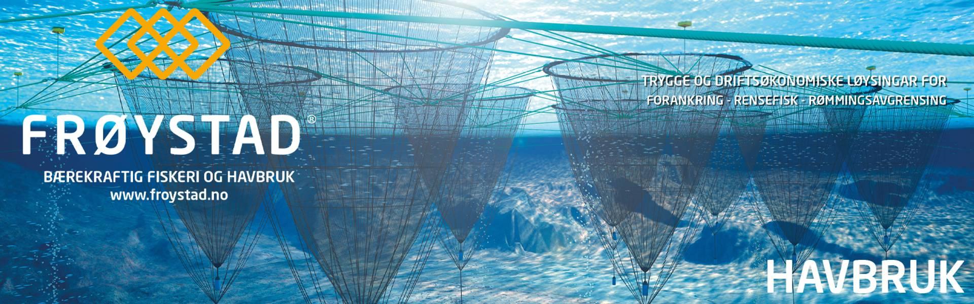 havbruk beredskapsgarn forankring tau trosser