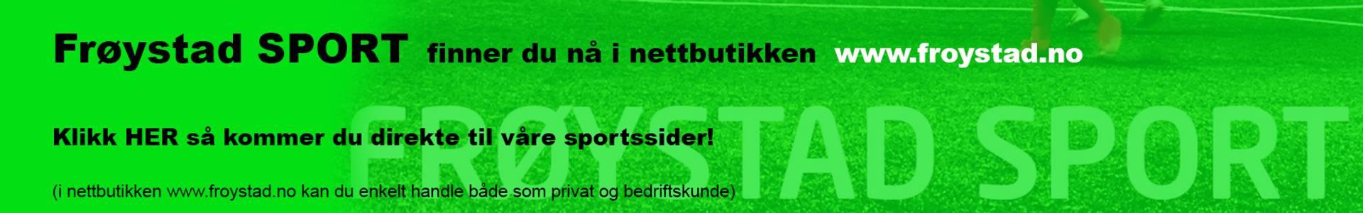Frøystad sport fotballpartner vannsport barneutstyr