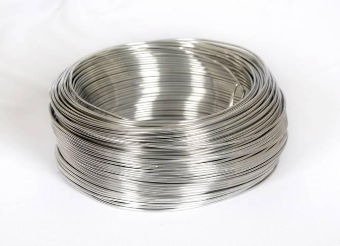 Bilde av Aluminiumstråd, sølv