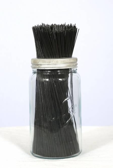 Bilde av Blomstertråd sort, 1,1 mm