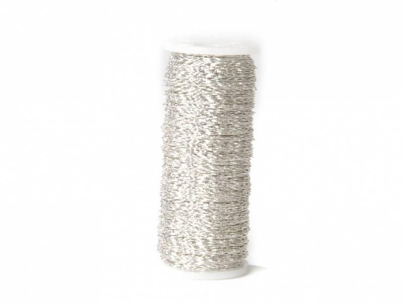 Bilde av Buljongtråd, sølv 100 gr.