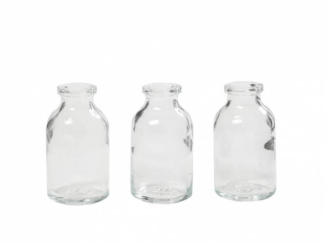 Bilde av Glassflasker 3 x 6 cm