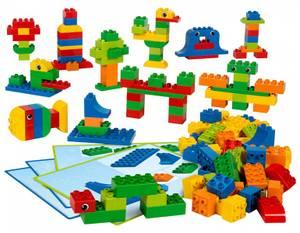 Bilde av  LEGO® Education Kreativt set med klossar