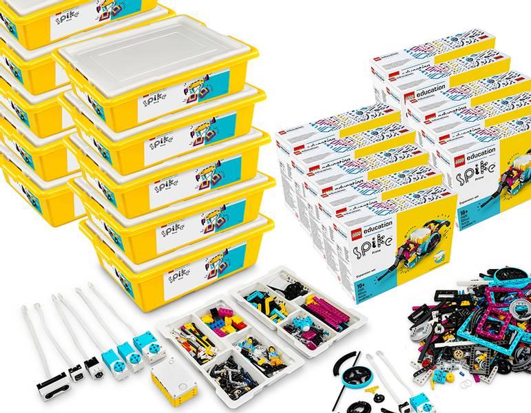 LEGO® Education SPIKE™ Prime med utbyggnadsset (20 elever)
