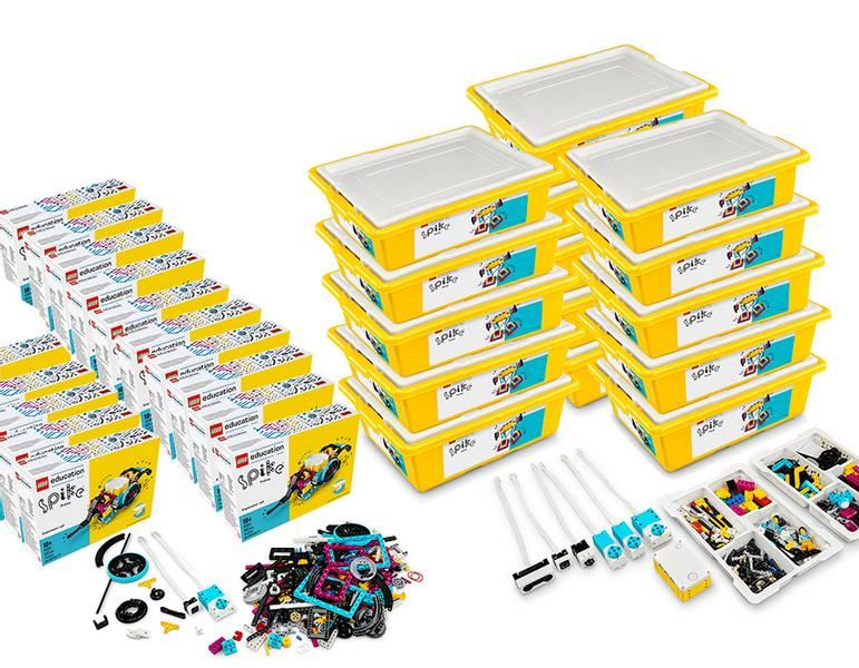 LEGO® Education SPIKE™ Prime med utbyggnadsset (30 elever)