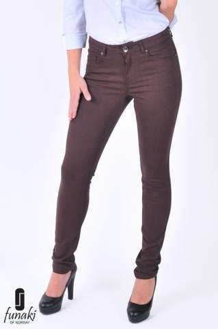 Bilde av Funaki Crow twill jeans brun