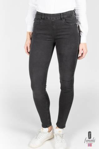Bilde av Funaki zipper jeans sort