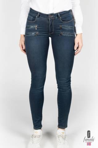 Bilde av Funaki Richmond jeans blå