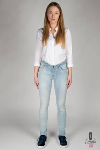 Bilde av Funaki Andrea jeans Lys Blå