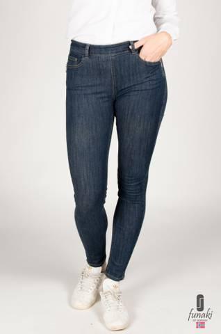 Bilde av Funaki zipper jeans blå denim