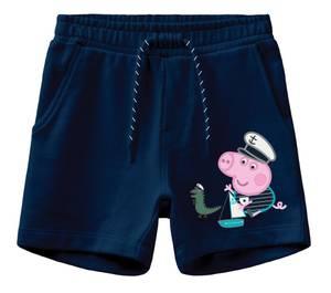 Bilde av Peppa sweat shorts nuka dark