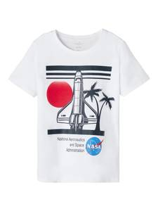 Bilde av Nasa t-shirt eskild white