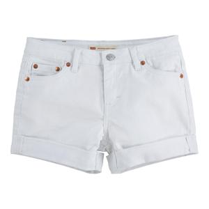 Bilde av Levi`s kort denim shorts white 8 år