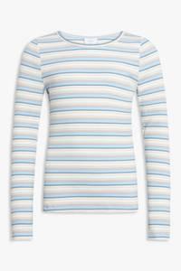 Bilde av Grunt Tap stripe topp light blue