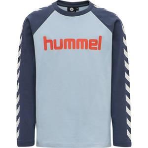 Bilde av Hml Boys ls t-shirt blue fog