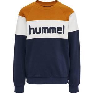 Bilde av Hml Claes sweatshirt pumpkin spice
