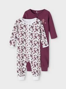 Bilde av 2 pk pysjamas prune purple 50-104