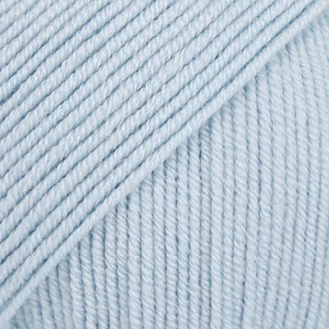 Bilde av DROPS Baby Merino, uni colour 11 isblå
