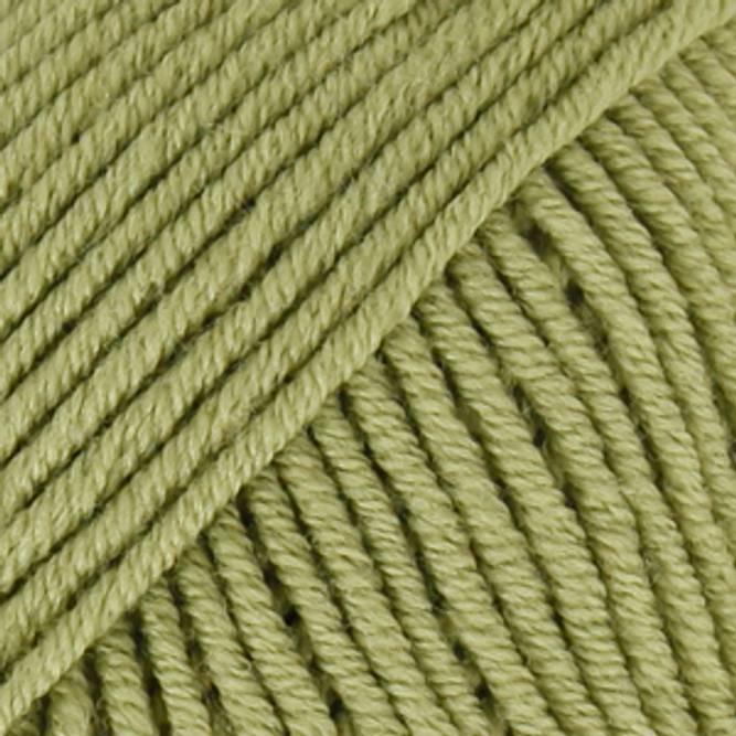 Bilde av DROPS Merino Extra Fine, uni colour 18 eplegrønn