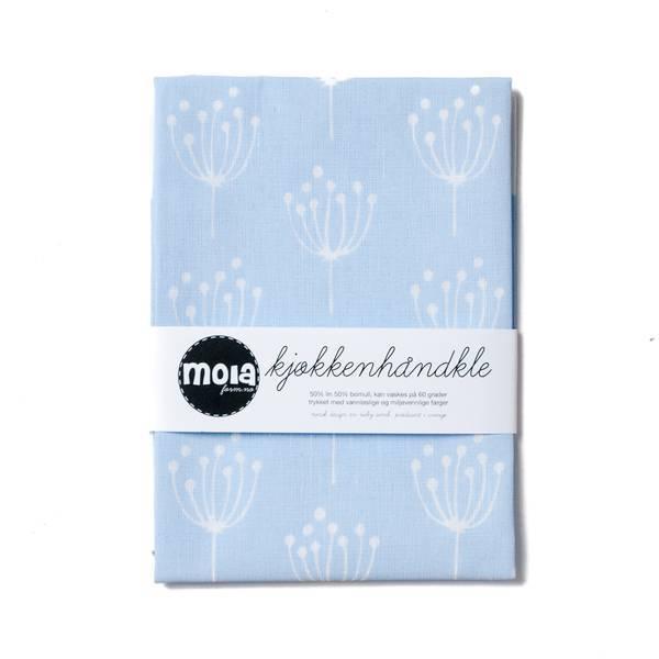 Kjøkkenhåndkle Kjeks Blå