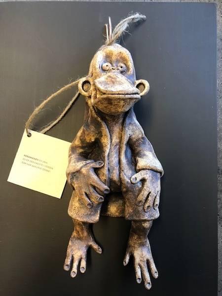 Hengende ape #I 30x40 cm