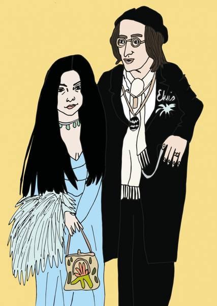 Bilde av Yoko Ono & John Lennon 50x70 cm