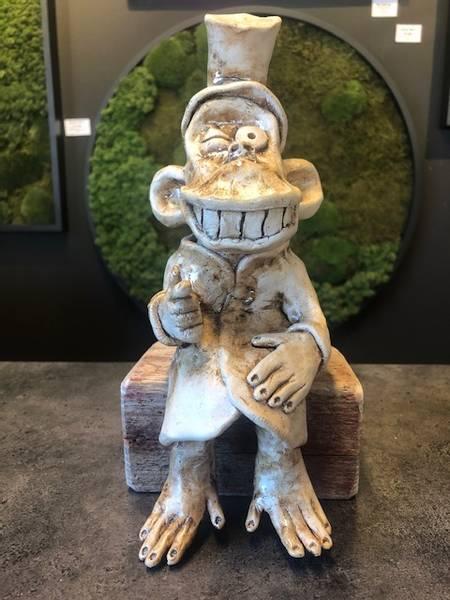 Frekk apekatt 25 cm høyde