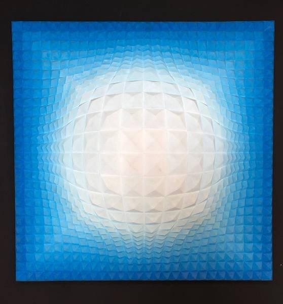 Bilde av Optical illusion, str 130x130 cm