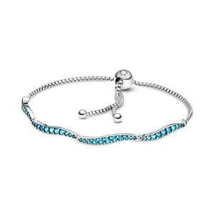 Bilde av Pandora wavy  slider bracelet