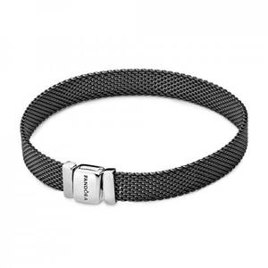 Bilde av Pandora reflexions oxidized mesh bracelet