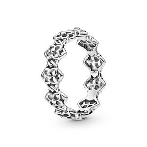 Bilde av Pandora rose petals band ring