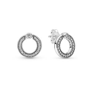 Bilde av Pandora logo stud earrings