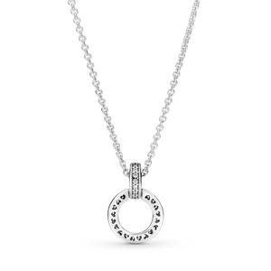 Bilde av Pandora logo interlocking circles necklase