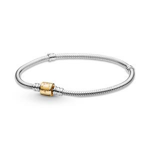Bilde av Pandora moments bracelet with 14k gold clasp