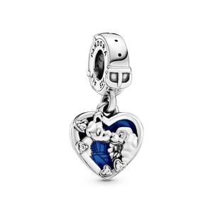 Bilde av Pandora Lady & the Tramp heart charm