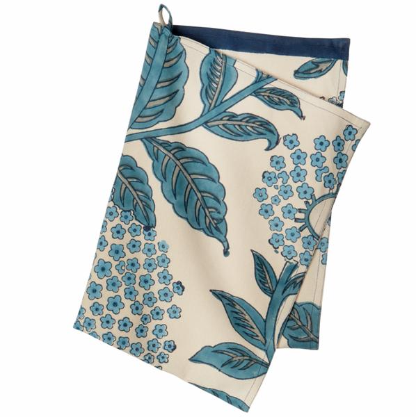 Bungalow - Kjøkkenhåndkle, Elderflower Topaz