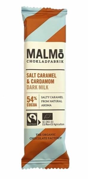 MALMØ SJOKOLADE - minibar med salt karamell og kardemumme