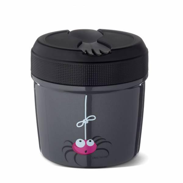 Mattermos - 0,5 liter, Grå med edderkopp