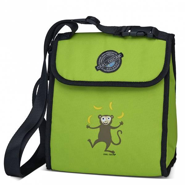 Pack'n Snack kjøleveske - 5 liter, grønn med ape