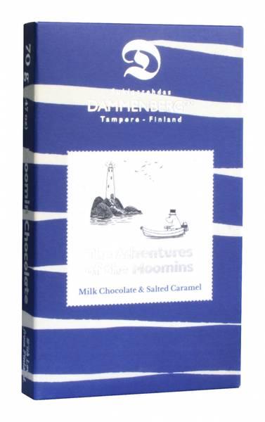 Mummi-sjokolade - melkesjokolade med salt karamel