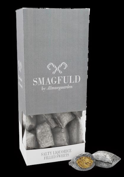 SMAGFULD - fylte drops med smak av salt lakris
