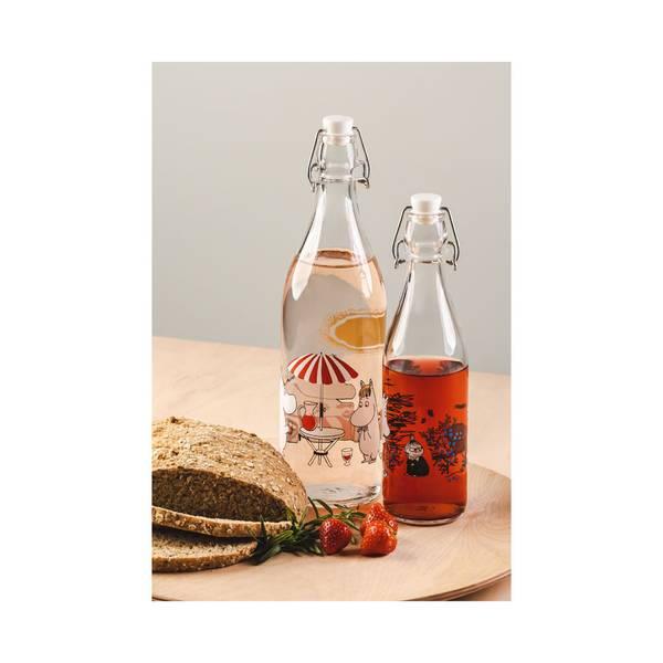 Mummi glassflaske - Sommer (1 liter)