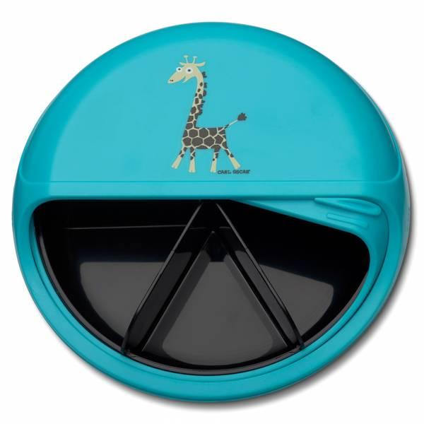 SnackDisc - Blå med giraff