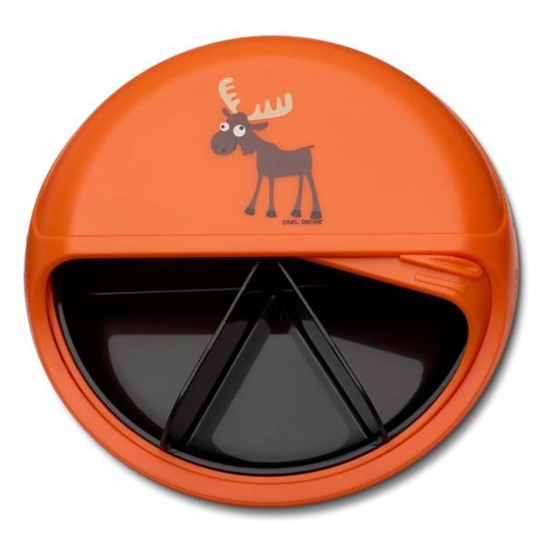 SnackDisc - Oransje med elg