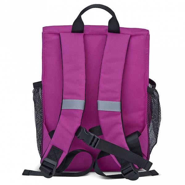 Pack'n Snack ryggsekk - 8 liter, rosa med ku
