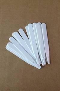 Bilde av Etiketter 12,5 cm, hvit - 100 stk