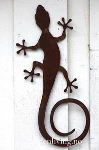 Bilde av Øgle, rust - 38 cm