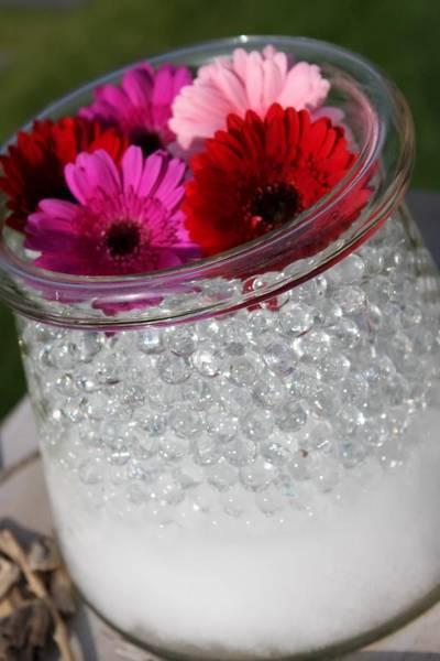 Vannperler, klar, 10 -12 mm