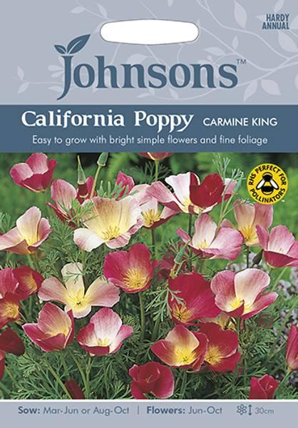 Kaliforniavalmue 'Carmine King' - Eschschoizia californica